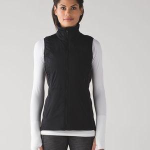 Lululemon Run for Cold Vest Size 4